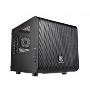 Mini Tower / Mini ITX / color: black / fan: The fan with Core V1 is a mini ITX case and can be equipped with an efficient ATX power supply. two USB 3.0 ports