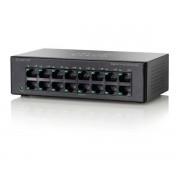Cisco SF100D-16P 16-Port 10/100 PoE Desktop Switch