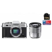 Fujifilm FinePix X-T10 kit (16-50mm F3.5-5.6) (argint)