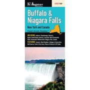 Universal Map Buffalo/Niagara Falls New York Fold Map (Set of 2) 15999