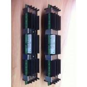 MicroMemory - DDR2 - 2 Go : 2 x 1 Go - FB-DIMM 240-pin - 800 MHz / PC2-6400 - Pleinement mémorisé - ECC - pour Apple Mac Pro