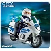 Motocicleta politiei, PLAYMOBIL Police