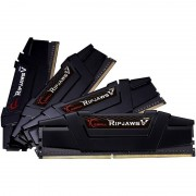 Memorie GSKill RipjawsV Black 32GB DDR4 3200 MHz CL15 Quad Channel Kit