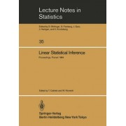 Linear Statistical Inference by Tadeusz Calinski