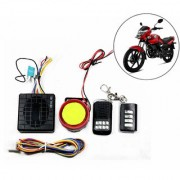 Capeshoppers Yqx Ultra Small Anti-Theft Security Device And Alarm For Honda Unicorn