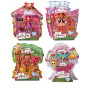 Mini Lalaloopsy Bundle Set: Honey Pots, Haley Galaxy, Peggy Seven Seas, & Confetti Carnivale By Lalaloopsy