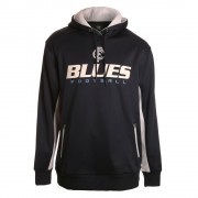 AFL Mens Premium Ultra Hood Carlton Blues [Size:XL]