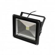 Fényvető / reflektor LED 30W, IP65, fekete, 3000K-worm white