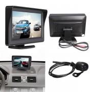"Achteruitrijdcamera inclusief 4.3"" TFT LCD Monitor"
