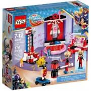Lego super hero girls il dormitorio di harley quinn