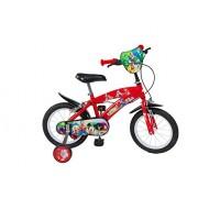 """Toimsa - 612 - Vélo pour Enfant - Mickey Mouse - Garçon - 12"""" - 3 à 5 ans"""