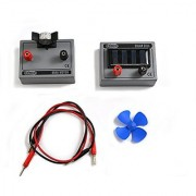 Eisco Labs Solar cell with Mini motor fan