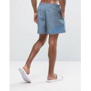 Nike Серые шорты для плавания с принтом логотипа сзади Nike - Серый