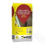 Adeziv flexibil pentru sisteme de izolatie termica - Weber P50 - 25 KG