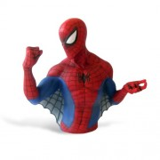 Marvel piggy bank / Bust Banks Spider-Man/AG-1468 (japan import)