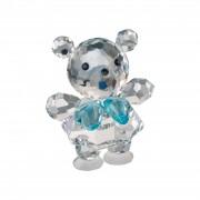 Figurina cristal Preciosa - Baby Bear (Blue)