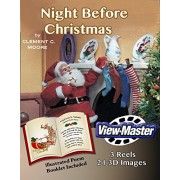 "ViewMaster - Night Before Christmas - ""Visit from St. Nicholas"" illustrated poem by Clement C. Moore - 3 reels 21 3D Images"
