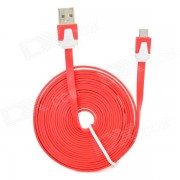 USB 2.0 Data/Charging Cable for Amazon Kindle Touch / 3 / 4 / Kindle Fire / Fire HD - Red (300CM)