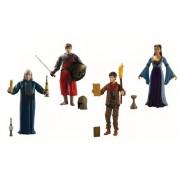 The adventures of Merlin - Set de 4 figuras de acción de las aventuras de Merlín