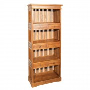 Bibliothèque 6 tiroirs