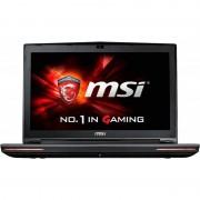 Laptop gaming MSI GT72 6QD Dominator 17.3 inch Full HD Intel Core i7-6700HQ 16GB DDR4 1TB HDD 128GB SSD nVidia GeForce GTX 970M 3GB Black