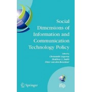 Social Dimensions of Information and Communication Technology Policy by Chrisanthi Avgerou