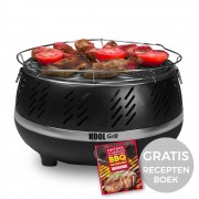 Kool Grill Barbecue Zwart