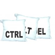Kit Almofadas Decorativas CTRL + ALT + DEL