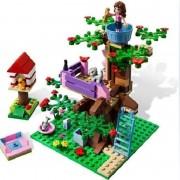 10158 BELA Girls Olivia Tree House Building Blocks Toy Set Lepine Friends Bricks Toys Compatible with 3065 Friends