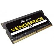 Corsair CMSX32GX4M2A2400C16 Memoria RAM da 16 GB, DDR4, 2400 MHz, CL16, Kit 2 Pezzi, Rosso