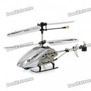 Iphone / Ipod Touch / Ipad Controlado Recargable 3.5-CH R / C i-Helicopter w / giroscopio - Blanco