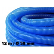12m - 38mm - Tuyau de piscine flottant sections double manchon 190g/m - Made in Europe