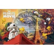 1000 Piece Jigsaw Puzzle Peanuts Flying Ace in Paris (50x75cm) by Epoch