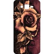 Go Hooked Designer Soft Back cover for Samsung On 5 Pro + Free Mobile Stand (Assorted Design)