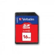 Card Verbatim SDHC 16GB Clasa 4