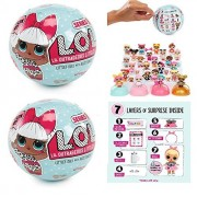 MGA Set of 2: L. O. L Little Outrageous Littles Surprise! Dolls - You Get Seven Layers of Fun with Every L. O. L. Surprise Doll!