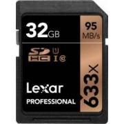 Card de Memorie Lexar Professional SDHC 633x 32GB Clasa 10 UHS-I 95MB/s