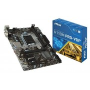 MSI H110M PRO VDP Carte mère Intel 6e Gen SATA