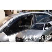 Deflektory komplet 4 ks - Audi A8, 2003-10