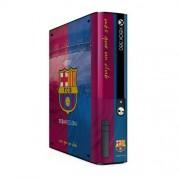 Consola Xbox 360 E Go Skin adhesivo oficial del FC Barcelona Barca Merchandise