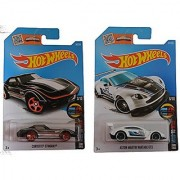 Hot Wheels 2016 Mild to Wild Aston Martin Vantage GT3 & Stingray 2-Car Set