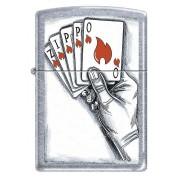 Zippo encendedor cartas
