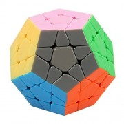Geepro Dayan Megaminx Twisty Magic Puzzle Cube Speed Solving Dodecahedron Stickerless Cubes