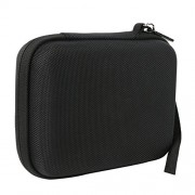 Khanka Carrying Travel Hard Case For Logitech HD Pro Webcam C920. For Polaroid 8 Heavy Duty Mini Tripod - Black