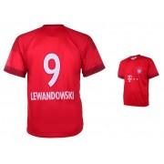 Bayern München Voetbalshirt Lewandowski Thuis 2015-2016