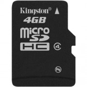 Card Kingston Micro SDHC 4GB Clasa 4 SDC4/4GBSP