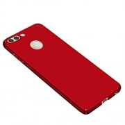 Huawei Nova 2 Plus Coque Protection Plastique Rouge Ultra Fin