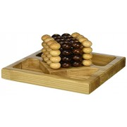 Square Root Games 0026 Pillars of Plato in Natural Finish Solid Hardwood by Square Root