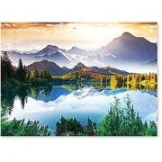 Melissa & Doug 1 500-Piece Mountain Lake Jigsaw E2193Puzzle (nearly 2 x 3 feet)