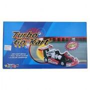 Kinsmart Turbo Gokart Black Die-Cast Metal Black